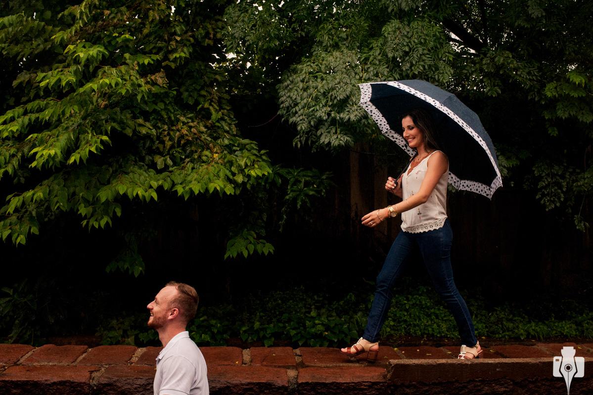 fotografia na chuva