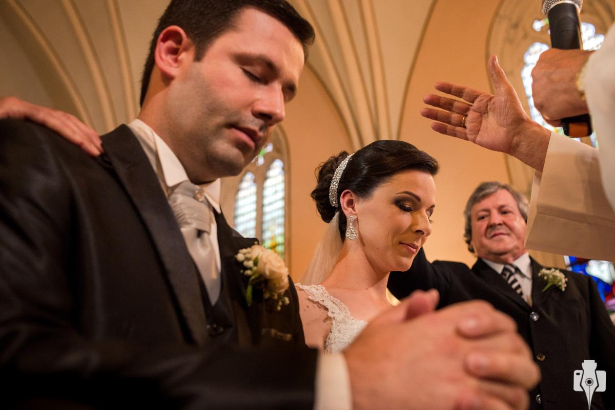 fotos de cerimonia de casamento em ângulos diferentes