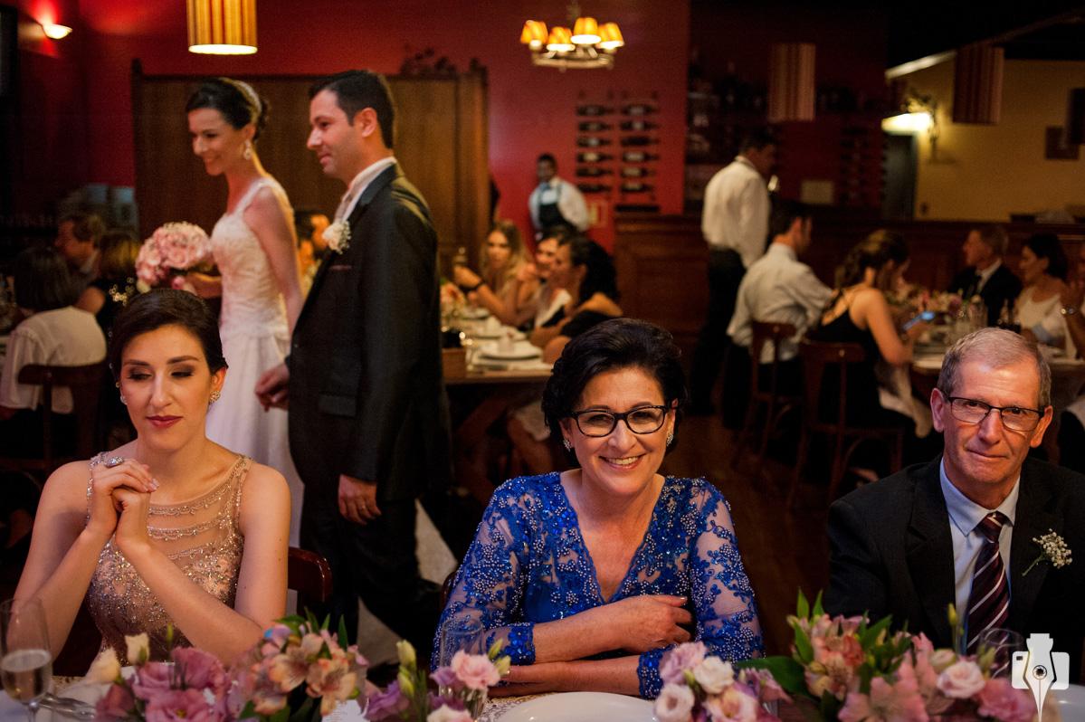 recepção de casamento na casa di Paolo