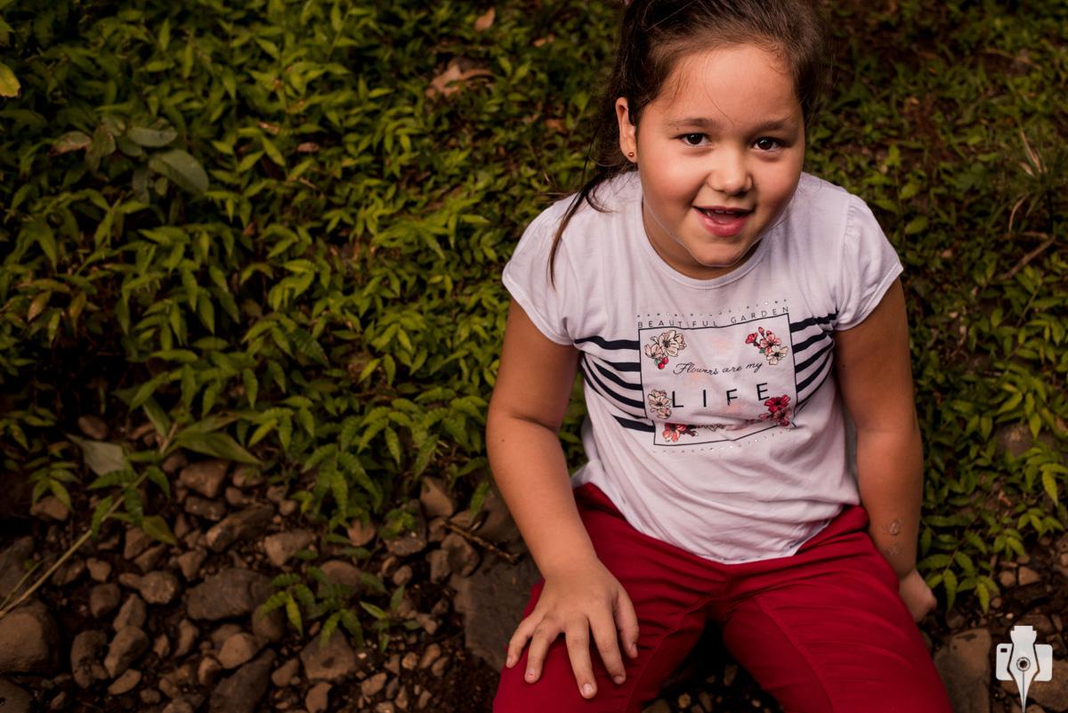 fotos de criança em rolante
