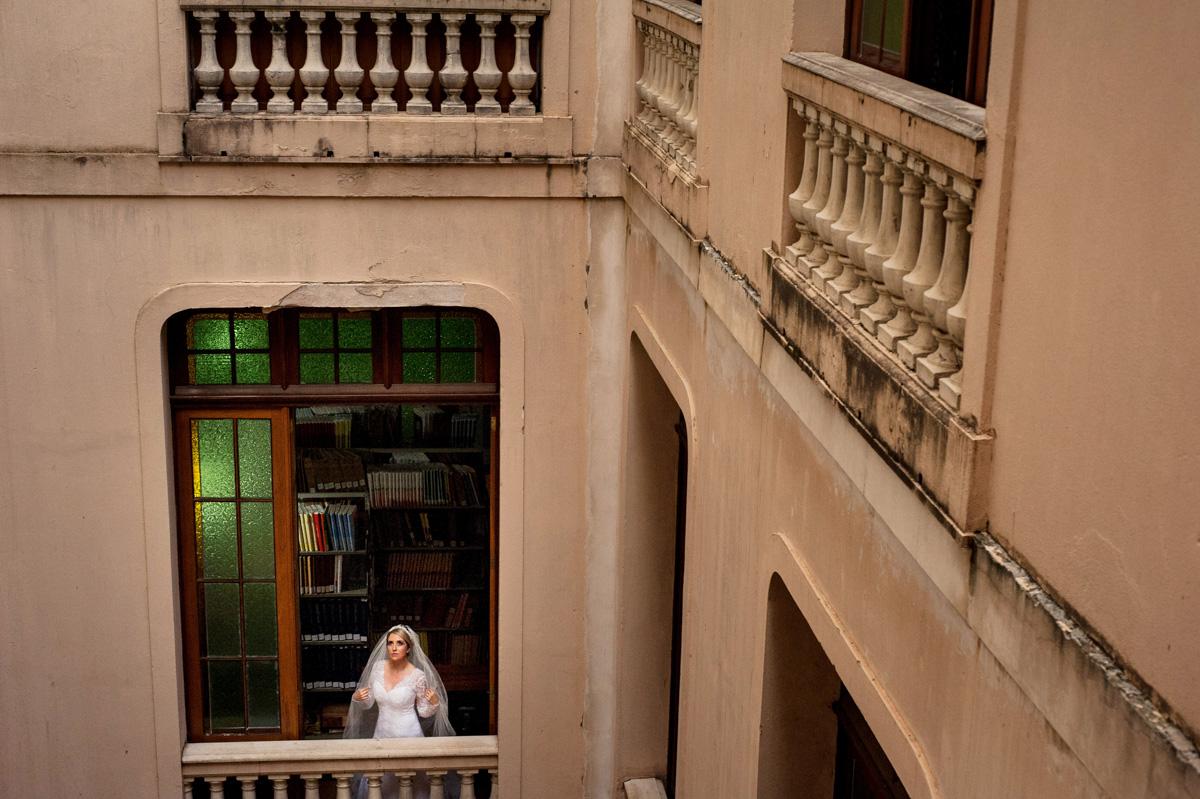 foto de noiva antes do casamento