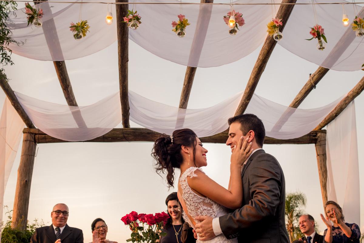 fotos de casamento no fim de tarde