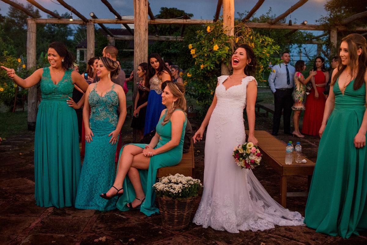 fotografia de casamento de noite