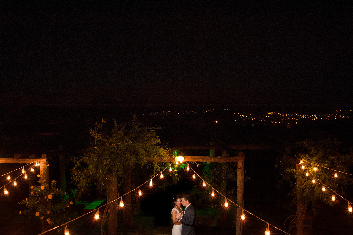 fotos de casamento a noite