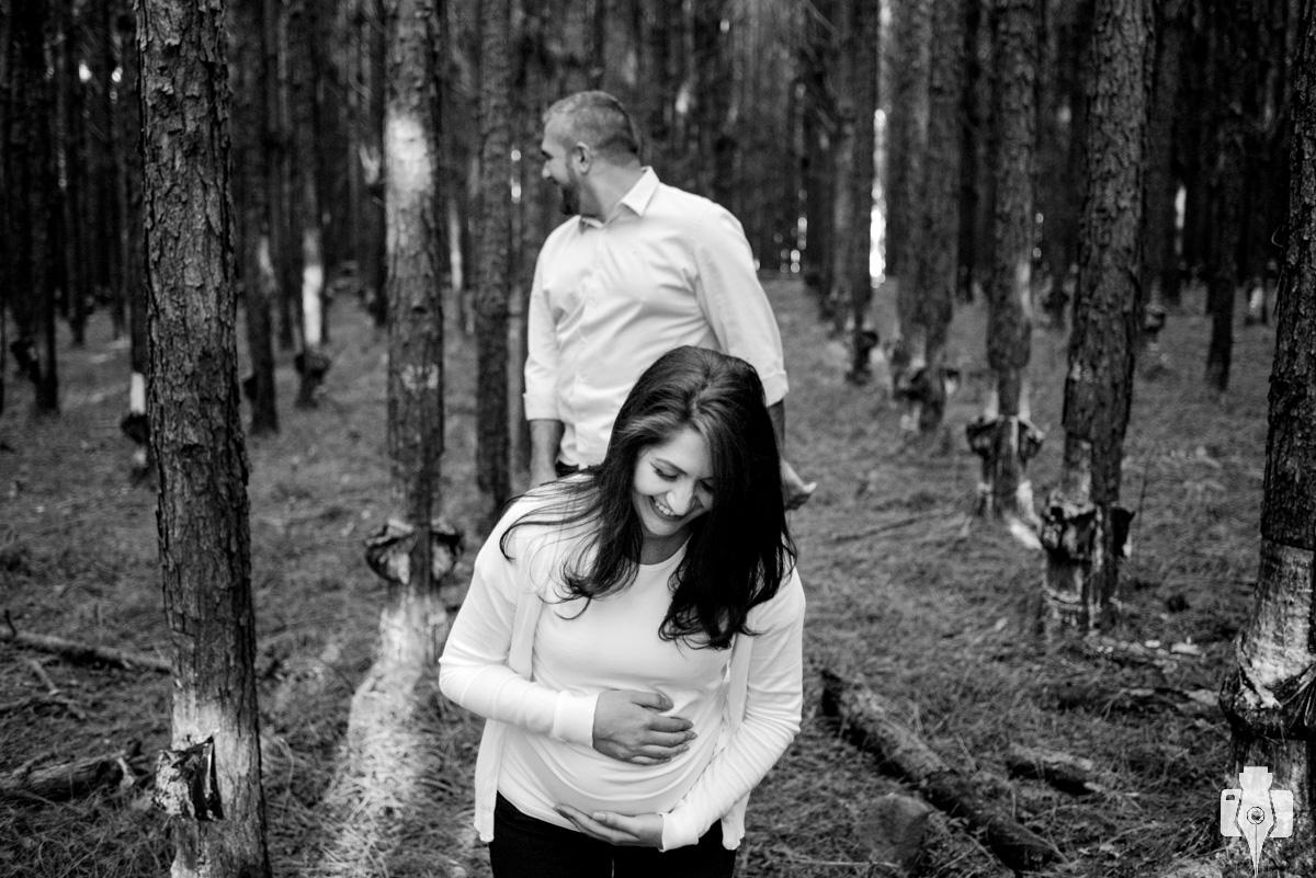 fotos de grávida no interior