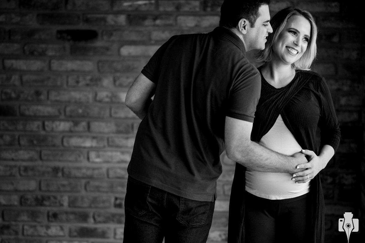 fotografia de grávida ao ar livre
