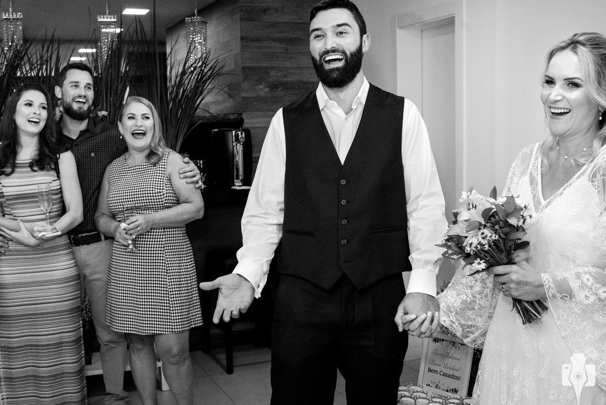 fotos de casamento para poucos convidados
