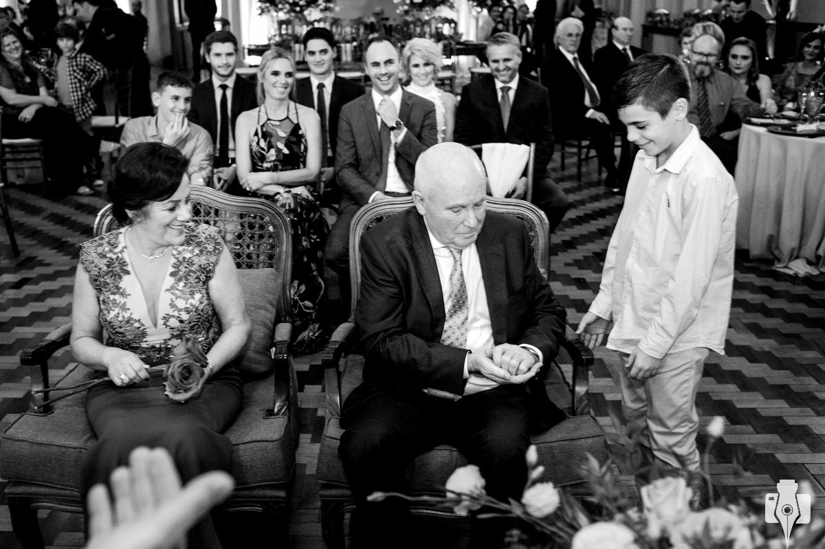 cerimonia de bodas de 50 anos