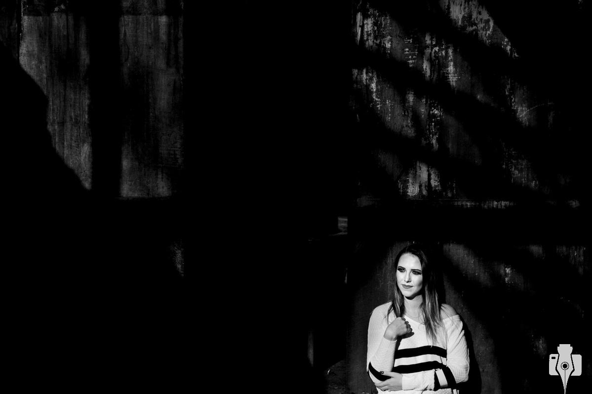 ensaio fotografico de mulher ao ar livre