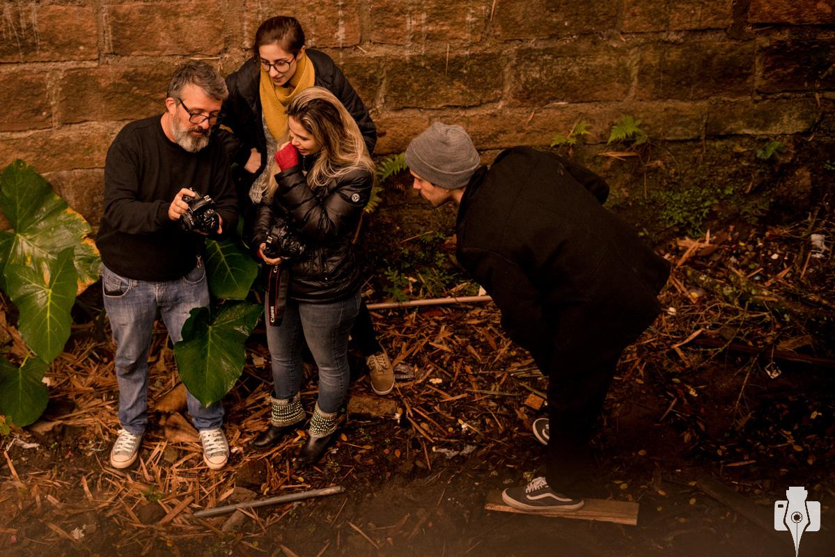 workshop de fotografia com pratica ao ar livre