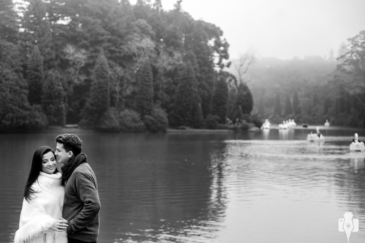 ensaio fotografico no lago negro em gramado