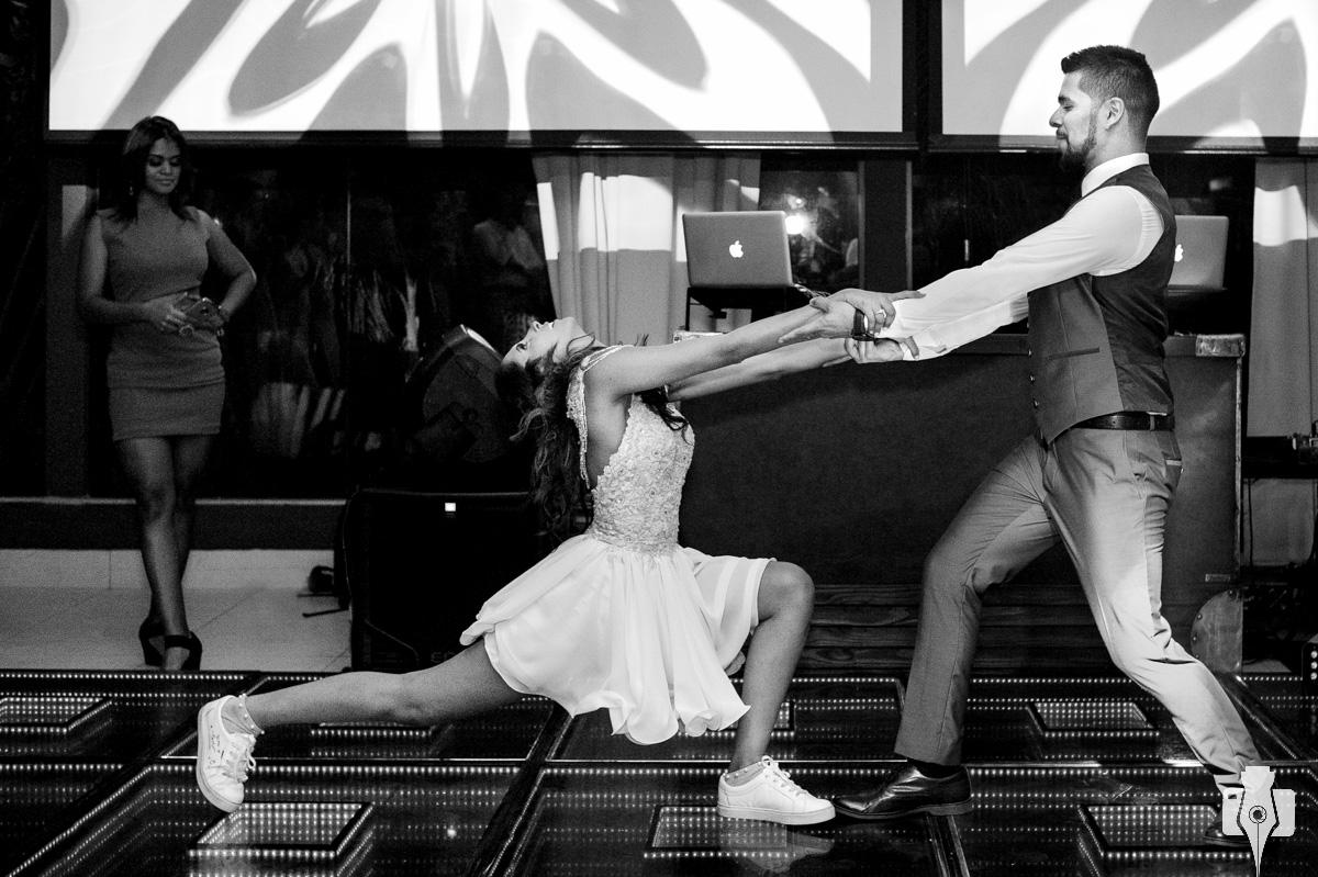 casamento com apresentacao de danca