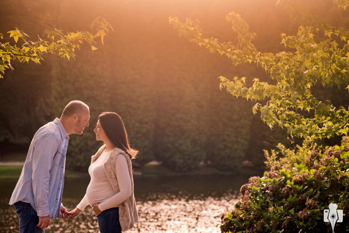 ensaio de gravida ao ar livre