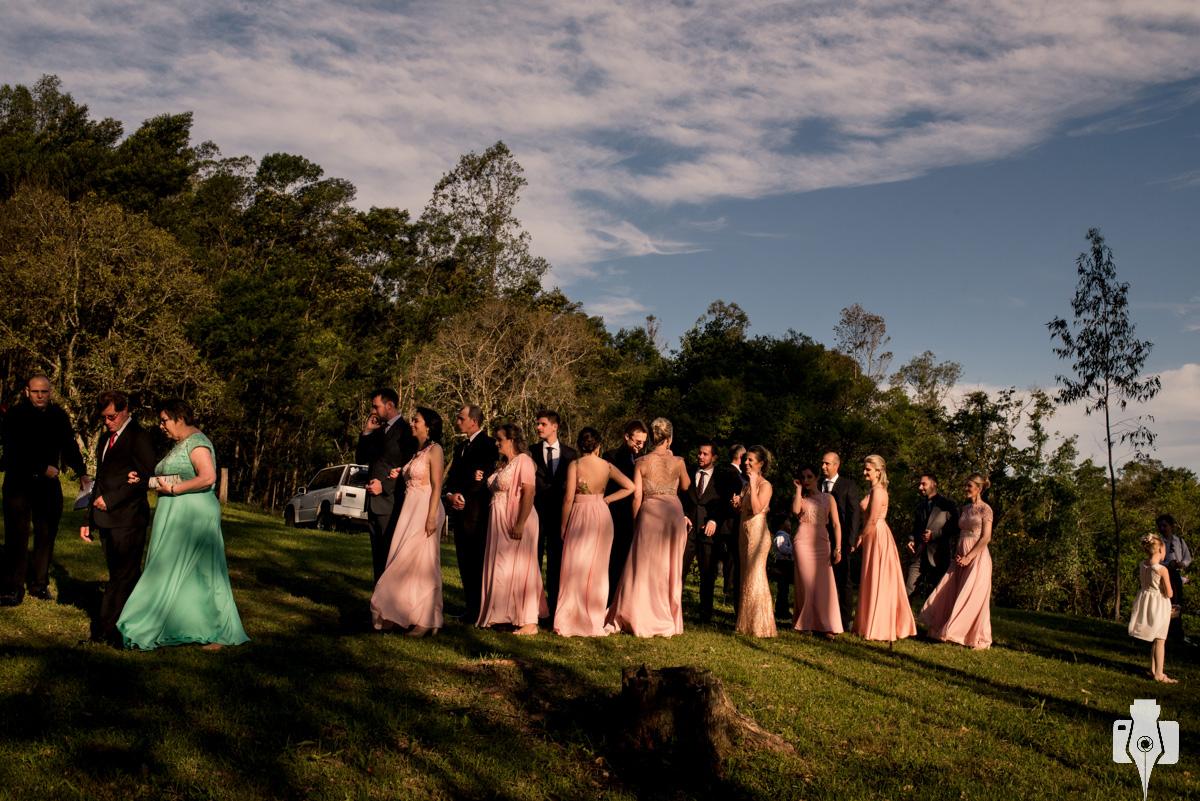 cerimonia de casamento country