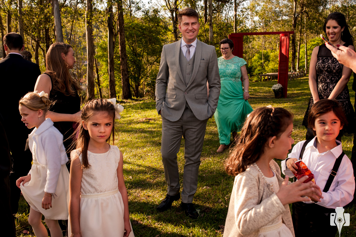 cerimonia de casamento no interior