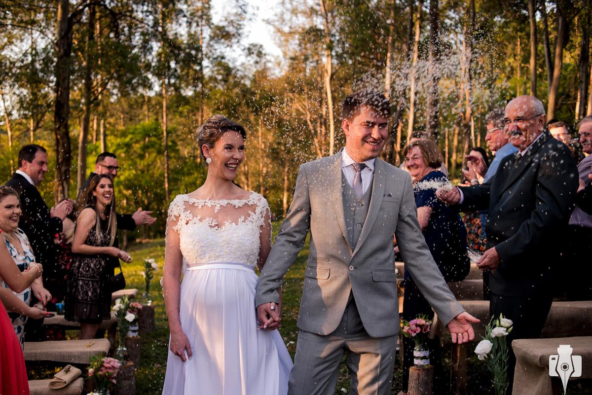 fotos de casamento country