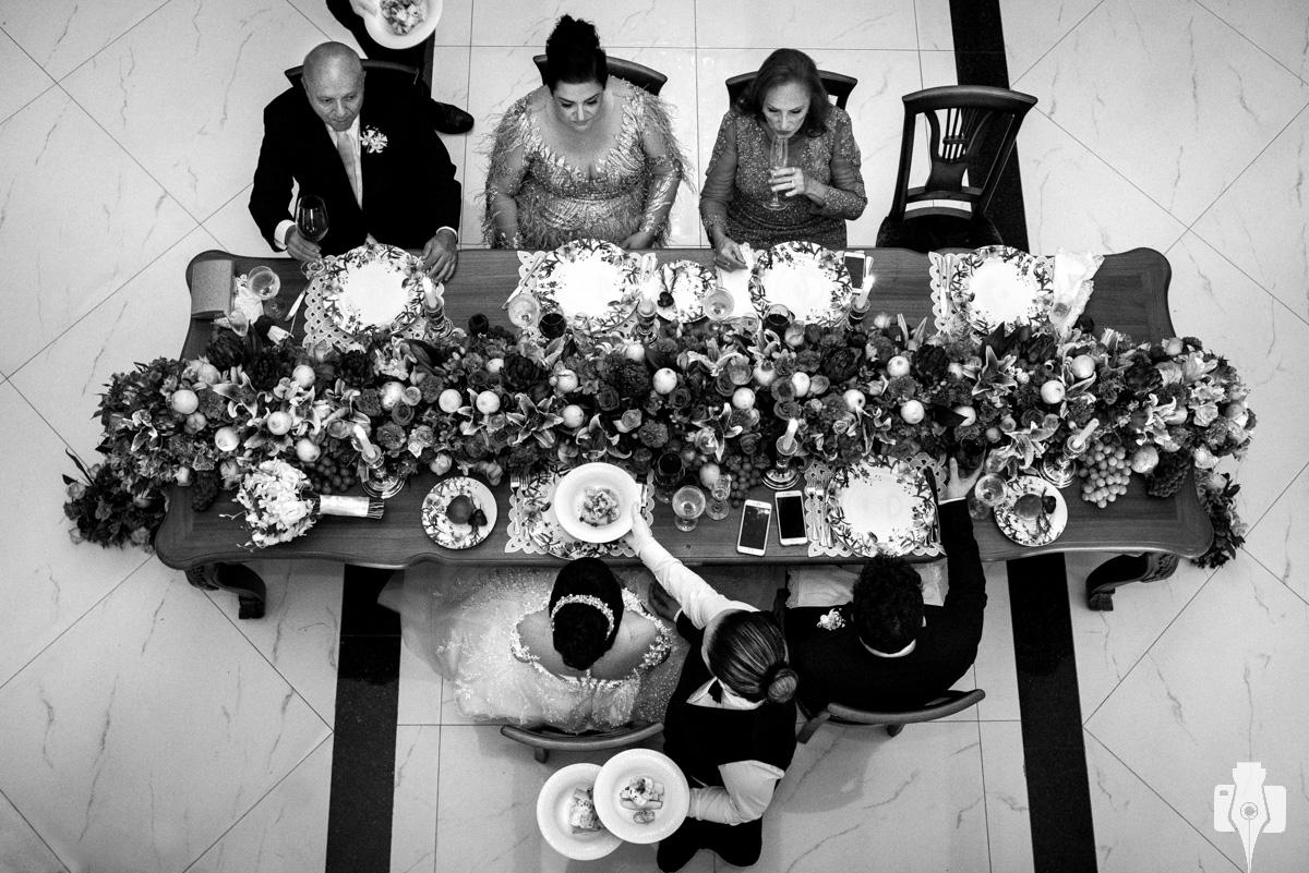 jantar de casamento em hotel