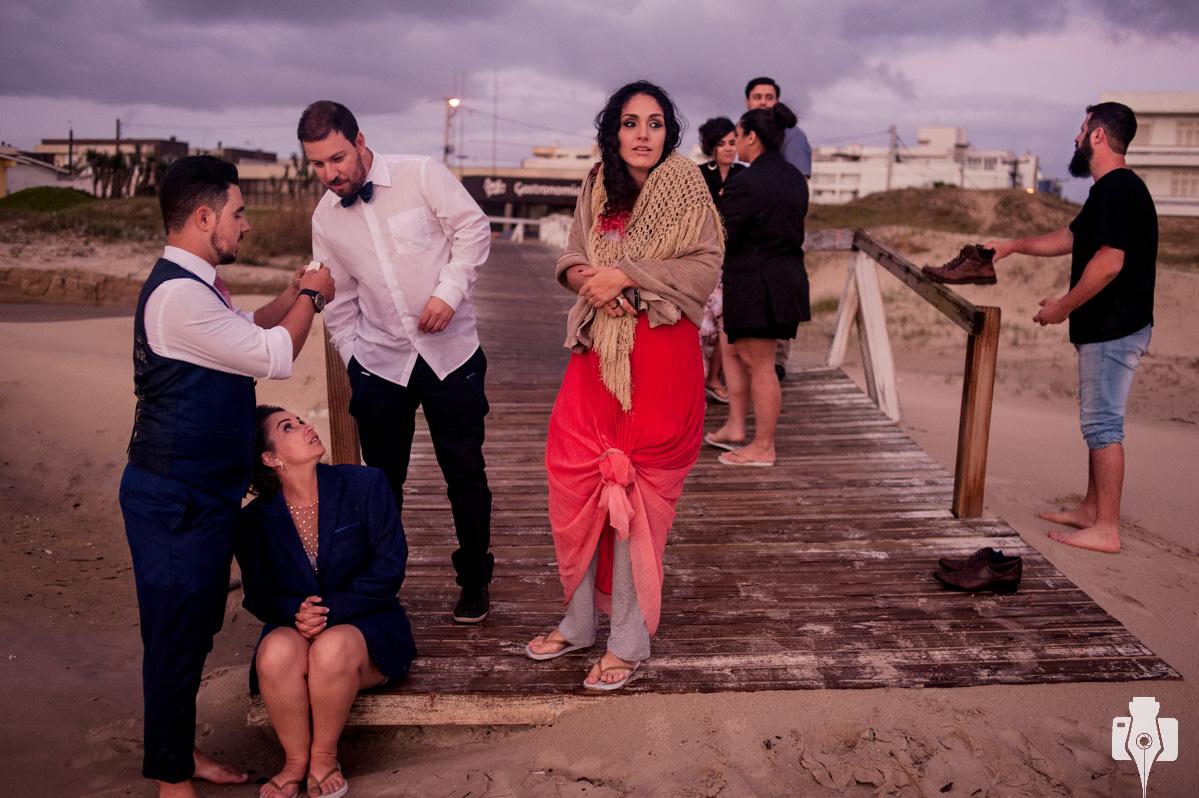 final de casamento na praia