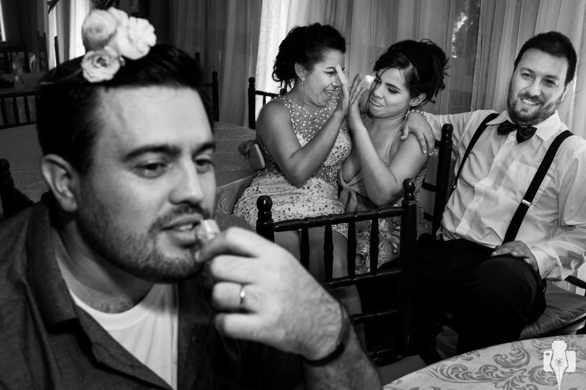 fotografias de final de festa de casamento