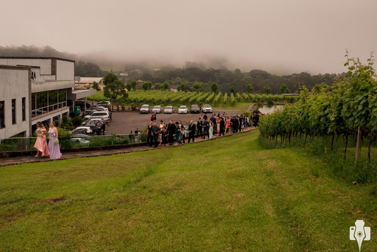 cerimonia de casamento ao ar livre