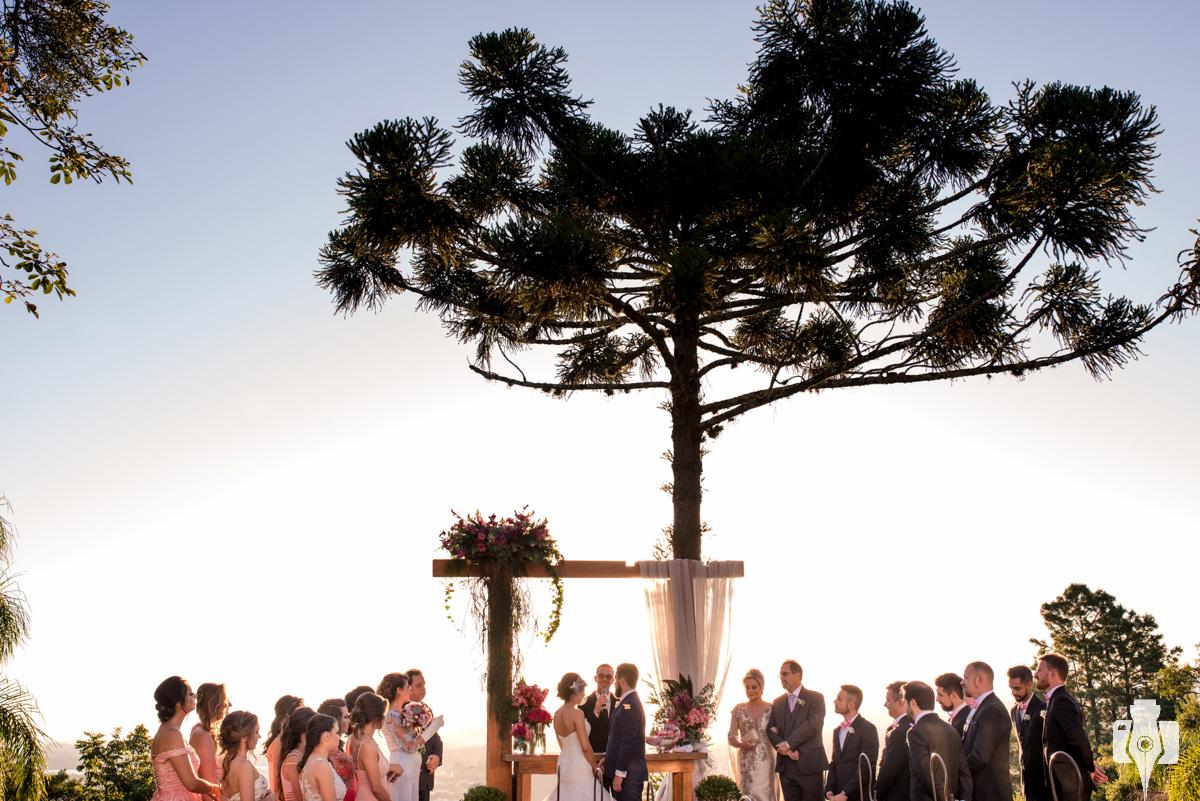 cerimonia de casamento com mauricio ehrlich