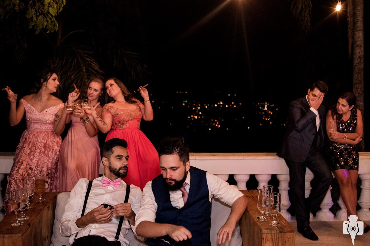 festa de casamento com banda