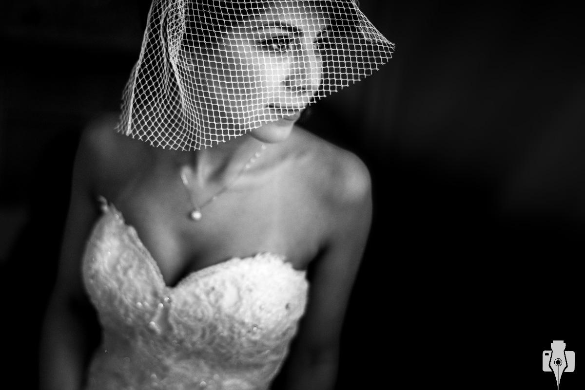 vestidos de casamento com veu voilette