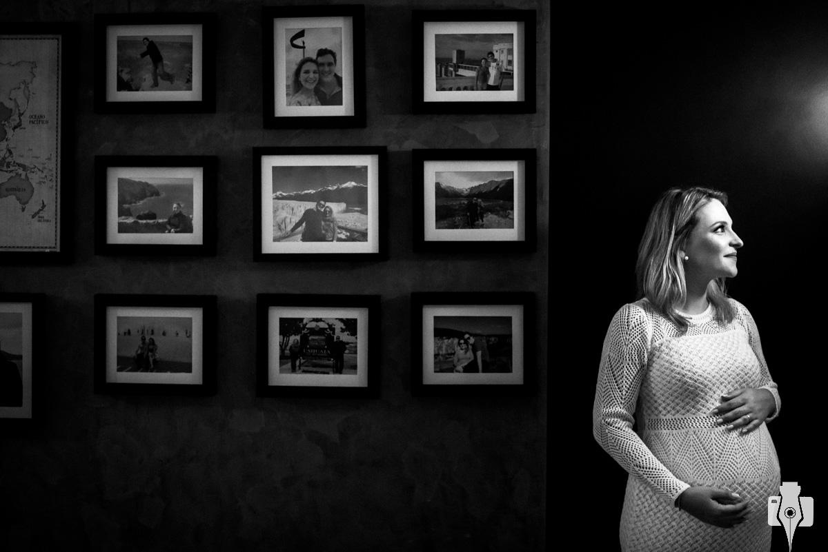 ensaio fotografico de gestante em casa
