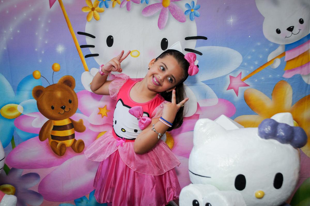 Final de festa no Buffet Infantil Planeta 2, Butantã, SP, festa infantil, tema Hello Kitty, Maria Eduarda 6 anos