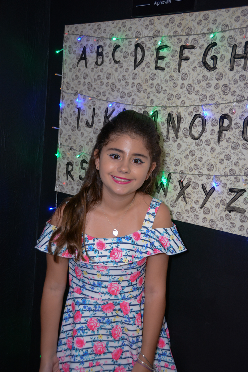 Fotografia de aniversário no Escape Home, Alphaville, São Paulo, Luana 10 anos