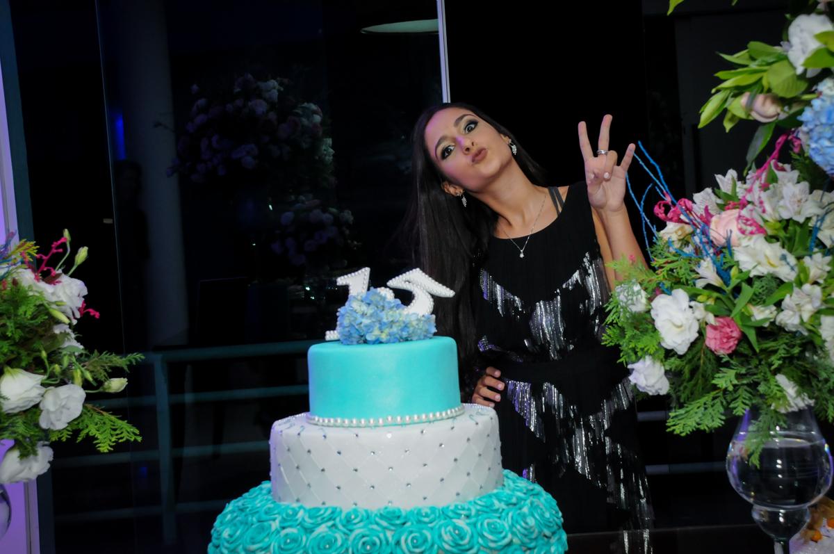 pose pra a foto no Condomínio Alphaville, festa 15 anos Maria Eduard 15 anos