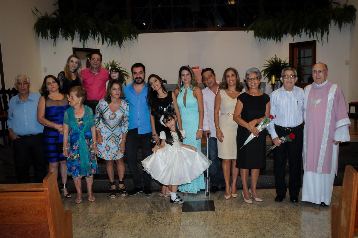 fotografia de família no Condomínio Alphaville, festa 15 anos Maria Eduard 15 anos