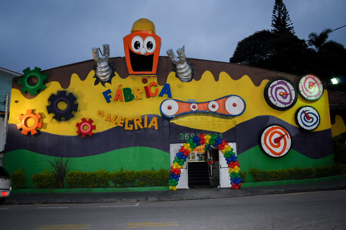 Buffet Fábrica da Alegria, Osasco,SP, festa infantil, tema os vingadores, Lucas 5 anos