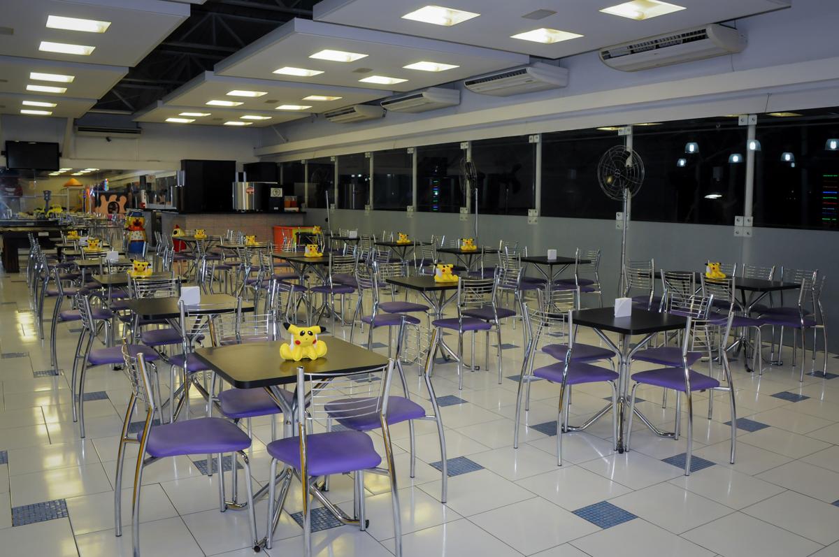 mesa-do-Buffet-max-mania-panambi-são-paulo-festa-infantil-aniversário-davi-5-anos-tema-da-festa-poken-mon