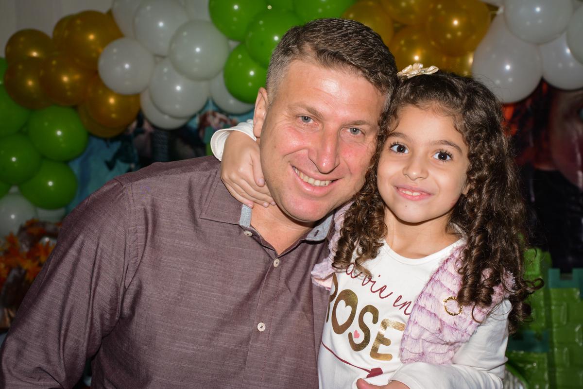 fotografia pai e filha no Buffet Galeria da arte, Vila Maria São Paulo, SP