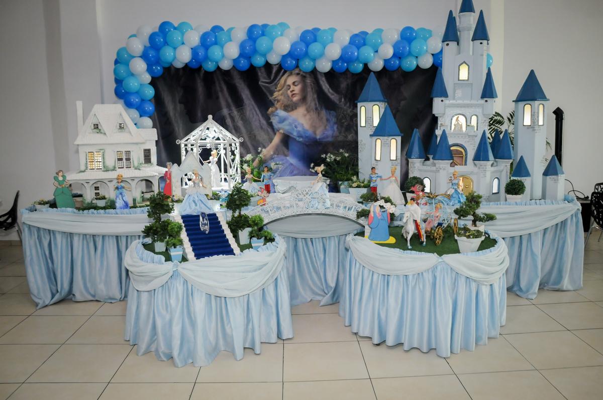 mesa decora da cinderela no Buffet Mega Boom, Santana, Zona Norte São Paulo, SP