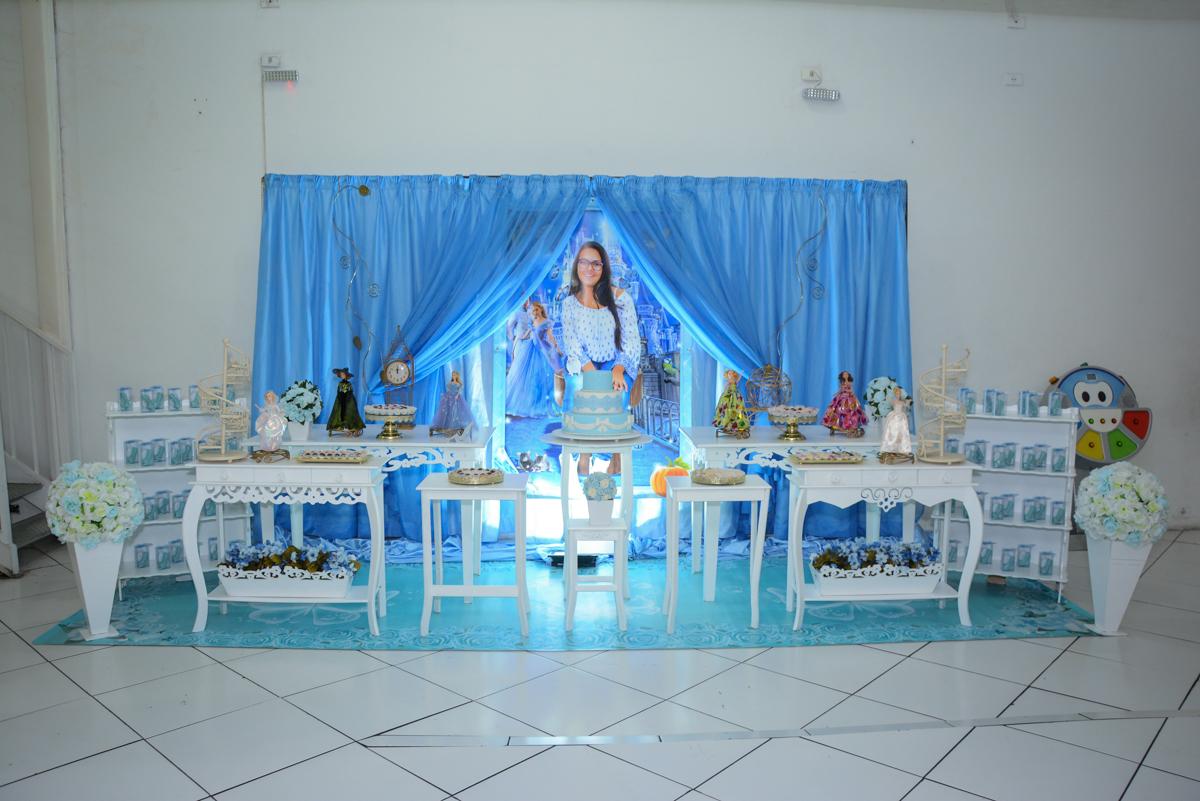 mesa decorada no Buffet Zezé e Lelé, Butantã, São Paulo, SP, Anne Caroline 15 anos