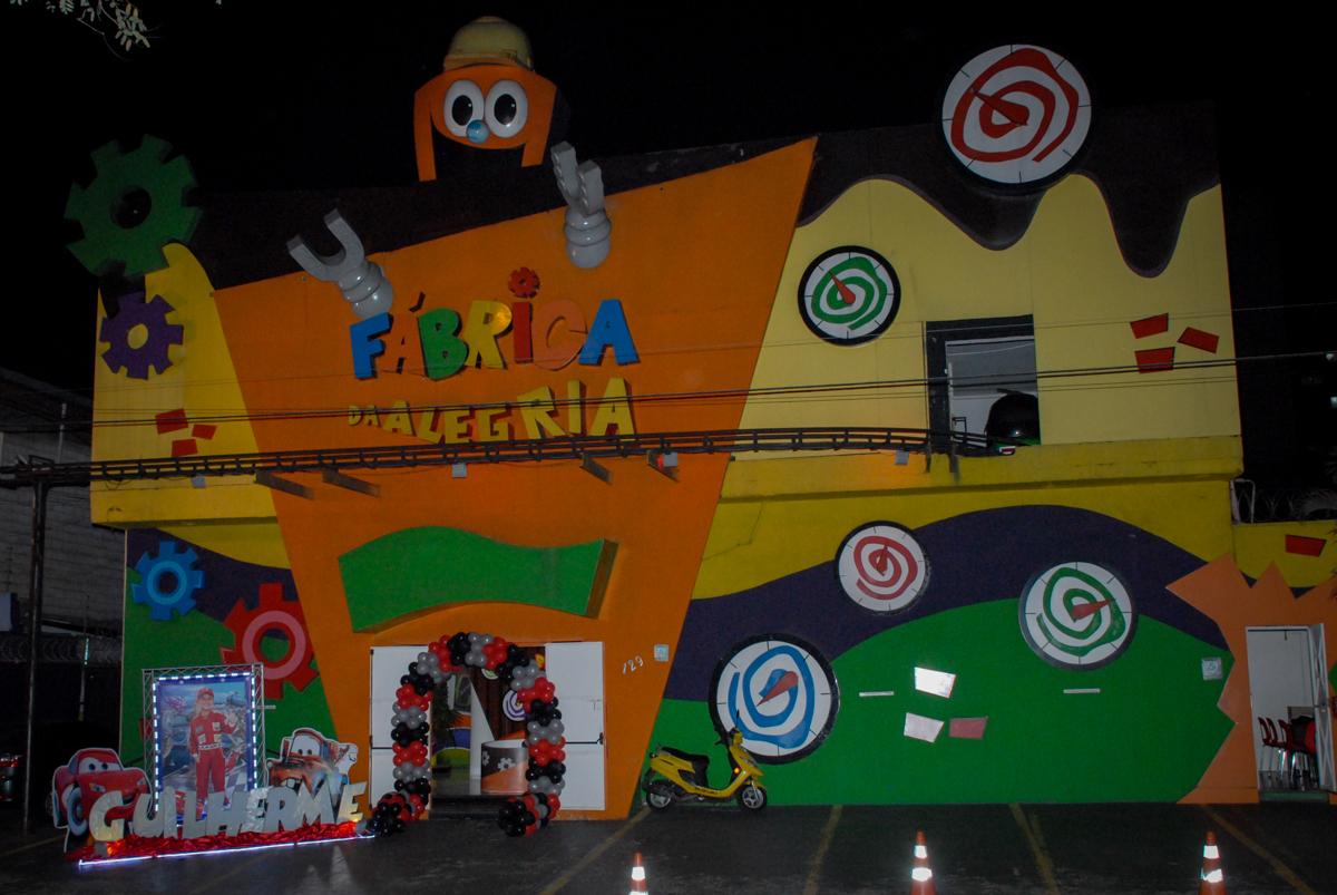 Buffet Fábrica da Alegria Morumbi, São Paulo, aniversario de Guilherme 6 anos, tema da festa carros