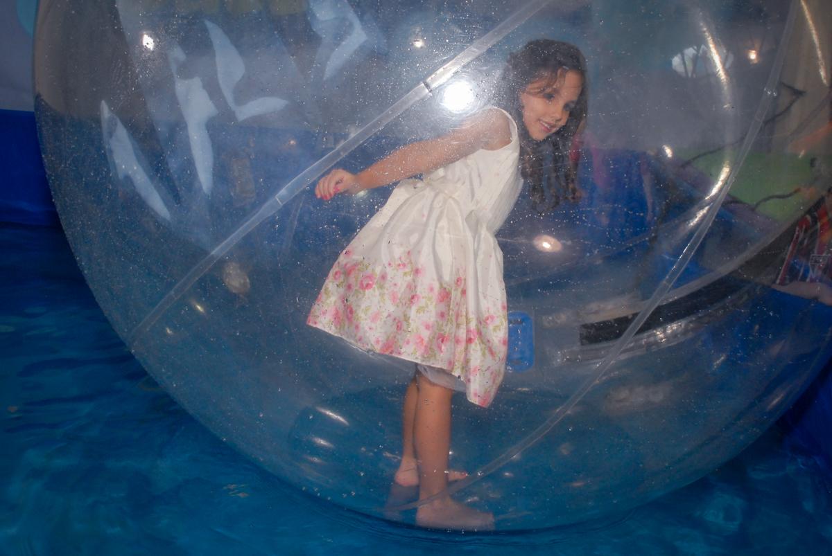 aqua play divertido no Buffet Fábrica da Alegria, Osasco São Paulo aniversário de Rafaela 5 anos, tema da festa Moana