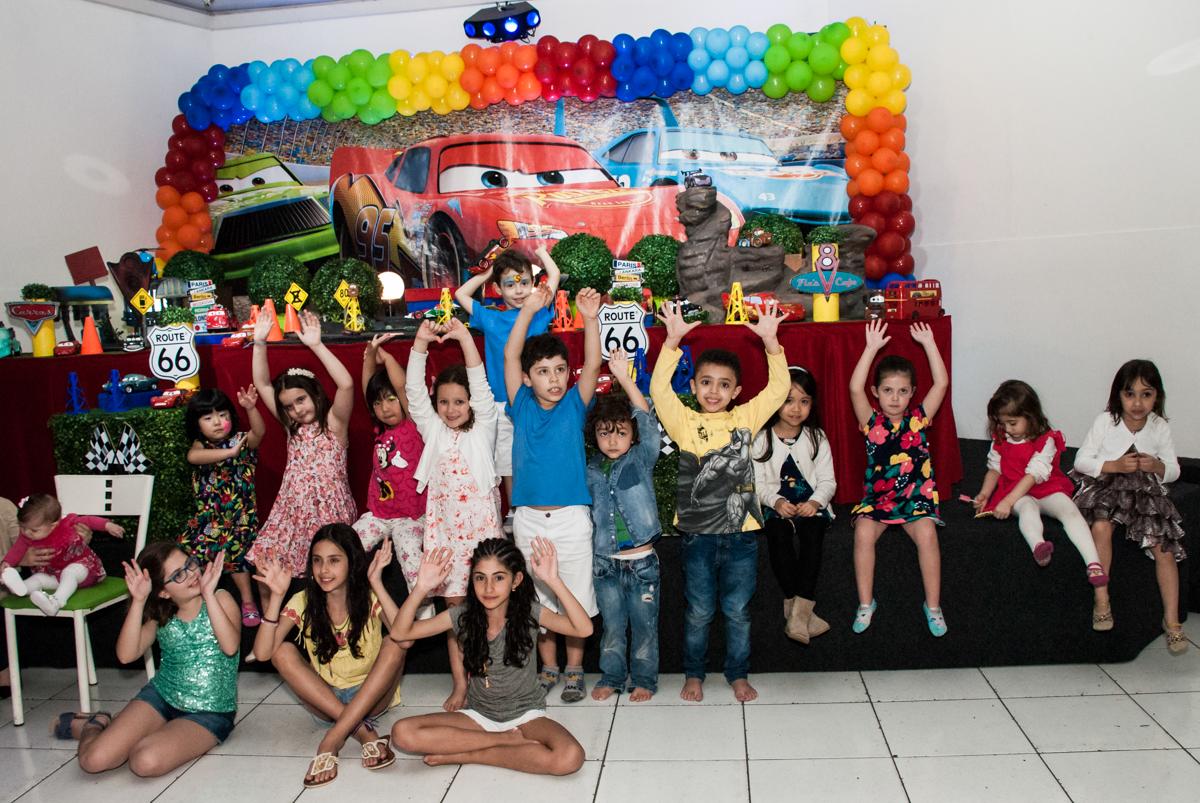 final de festa no Buffet Balakatoon, saude, são Paulo, aniversário de João Gabriel 5 anos, tema da festa carros
