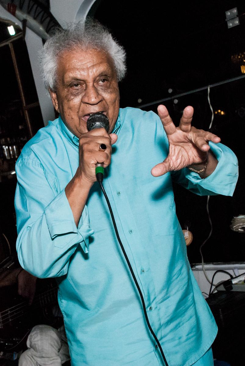 ex empresário de Roberto Carlos no aniversário de Helena 40 e Wanderley 67 anos, festa realizada no condomínio, Morumbi, São Paulo