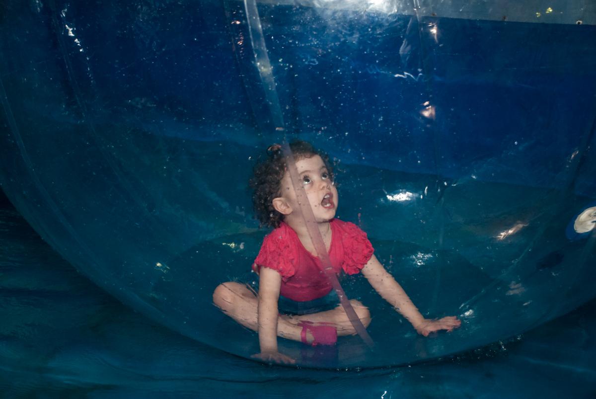 aqua play no Buffet Fábrica da Alegria, Osasco, São Paulo, aniversário de anna clara, 3 anos, tema da festa Frozen