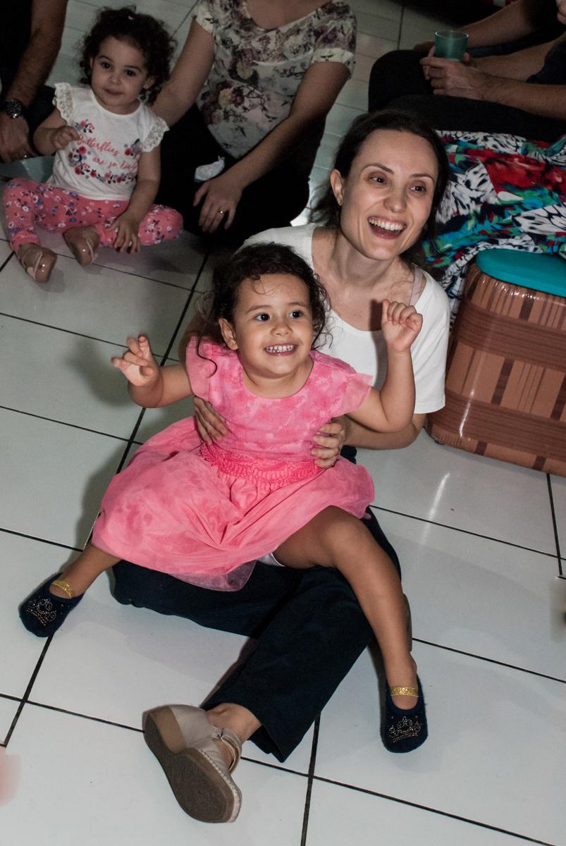 hora do show no Buffet Magic Joy, saude, são Paulo, aniversário de Catarina 3 anos, tema da festa fundo do mar