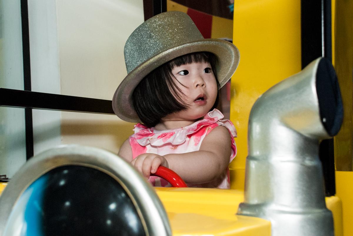 Foto de Julia Yumi 2 anos