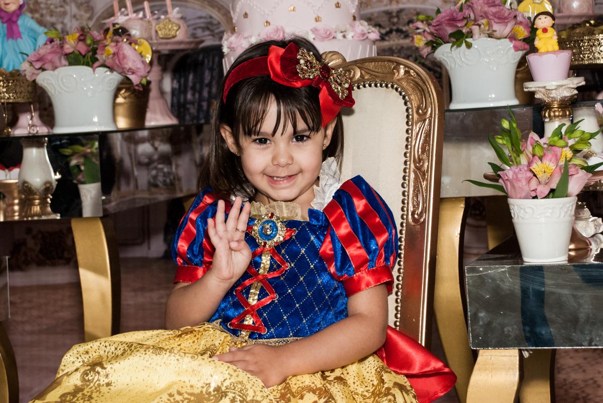 muita alegria em sua festa no Buffet Fábrica da Alegria aniversário de Sophia 4 anos tema da festa Princesas