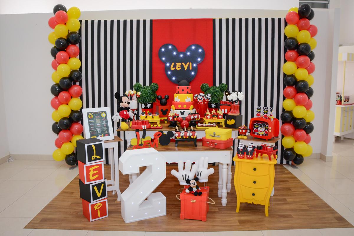 Buffet Espaço Play, Osasco, São Paulo, aniversário Levi 2 anos, tema da festa Mickey