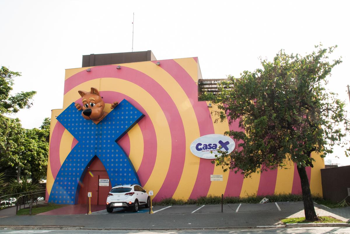 Buffet Casa X Vila Leopoldina, São Paulo, aniversário de Sophia 7 anos tema da festa Descendentes