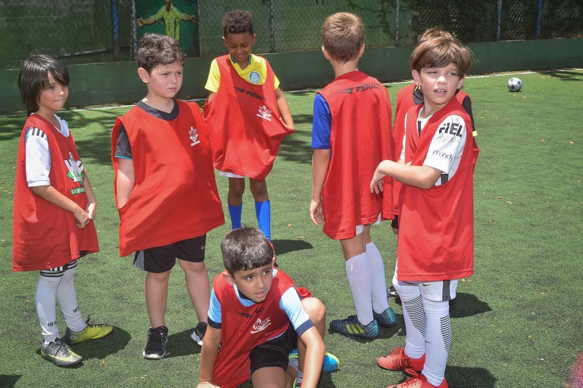 time de futebol adversário no buffet High Soccer aniversario de João Pedro 8 anos, tema da festa Real Madrid