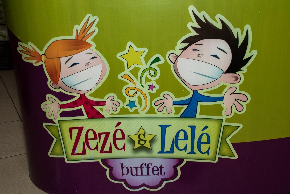 Buffet Zezé e Lelé, Butantã, São Paulo, aniversário, Pedro 7 e Giovana 5 anos tema da festa Pokemon e Princesas