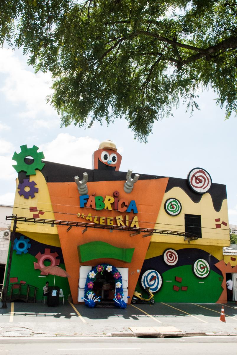 Buffet Fábrica da Alegria Morumbi, anieversário de Ana Julia 3 anos, tema da festa Frozen